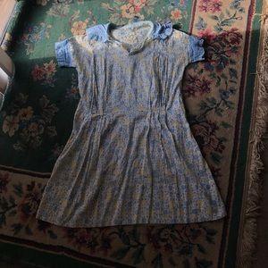 Summery 30s/40s Vintage Dress